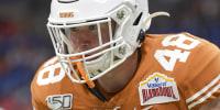 Image: Texas Longhorns linebacker Jake Ehlinger (48)