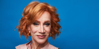 Kathy Griffin posing in New York on July 16, 2019.