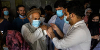Image: J&J Covid-19 Vaccine Rolled Out In Afghanistan