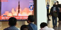 Image: North Korea Missile Test