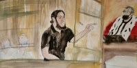 Image: Sketches show Paris' November 2015 attacks suspect during trial at Paris courthouse