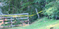Three people are dead after a small aircraft crashed in a wooded area in Fayette County, W.Va., on Sept. 26, 2021.