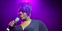 Kelly Price performs in Miami on May 8, 2016.