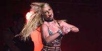 Image: Britney Spears performs on Dec. 3, 2016 in San Jose, Calif.