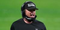 Image: Jon Gruden, Kansas City Chiefs at Las Vegas Raiders