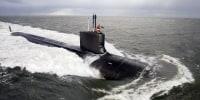 Image: Virginia-class attack submarine sea trial