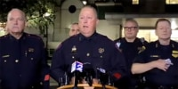 Image: Mark Herman, Harris County Constable Precinct 4, at a press conference in Houston on Oct. 16, 2021.
