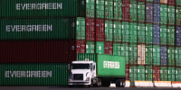 Image: BESTPIX - Global Supply Chain Disruptions Continue As Covid Pandemic Persists
