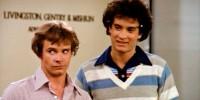 "Peter Scolari, left, and Tom Hanks \""Bosom Buddies.\"""