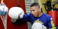 Felix Verdejo trains in Puerto Rico in 2019.