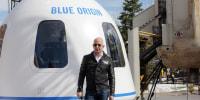 Image: Jeff Bezos Blue Origin