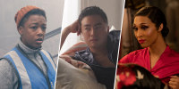 """Samira Wiley in Hulu's """"The Handmaid's Tale,"""" Bowen Yang in NBC's """"Saturday Night Live,"""" and Mj Rodriguez in FX's """"Pose."""""""