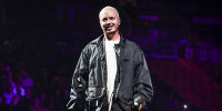 J Balvin performs during the Uforia Mix Live 2021 at FTX Arena on Oct. 1, 2021 in Miami.