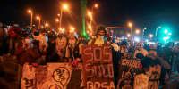 Image: Protest in Bogota
