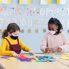 The CDC updated school guidelines, suggesting students stay 3 feet apart and take part in universal masking. See the best face masks for kids to stay safe.