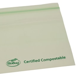 We found compostable, biodegradable sandwich bags that are