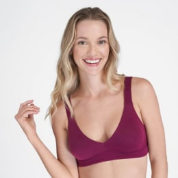 This is the perfect seamless and supportive bra for larger busts