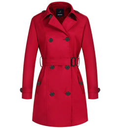 These 5 women try on Amazon's bestselling trench coat