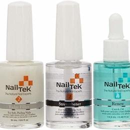 the nailtek nail recovery kit saved my brittle nails