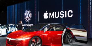 Image::Image: VW I.D. Vizzion Getty Images 2018 Getty Images