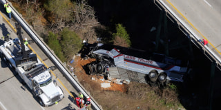 Image::Image: Charter bus crash|AP
