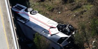 Image::Image: Charter bus crash|AP