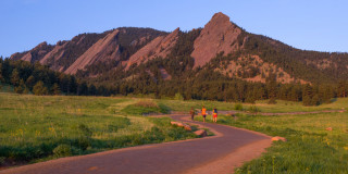 Image::Image: Chautauqua Park in Boulder, Colorado|Getty Images stock