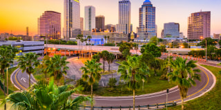 Image::Tampa Florida Skyline|Getty Images stock