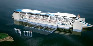 See How Costa Concordia Cruise Ship Will Float For First Time - How do cruise ships float
