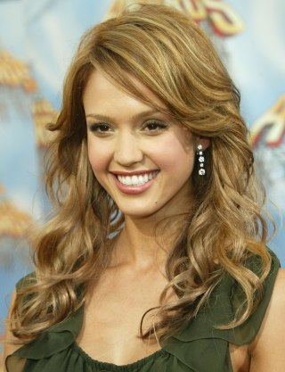 Jessica albas hairstyles hair evolution frederick m brown getty images urmus Images