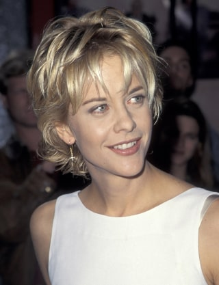 Meg ryan shares the hot story behind her famous haircut meg ryan at the los angeles premiere of french kiss in 1995 wireimage urmus Choice Image