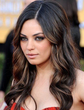 Mila kunis debuts new wavy bob haircut in time for fall kunis opted for glamorous full waves at the 2011 screen actors guild awards in los angeles california filmmagic urmus Image collections
