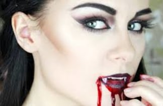 vampires are a halloween classic for a reason and we love this seductive vamp tutorial