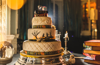 The Cake Was Stacked High With Potter References Kelly Clarke