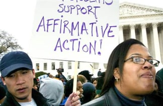opinion on affirmative action asian americans are not your wedge students demonstrate to support affirmative action in universities alex wong getty images
