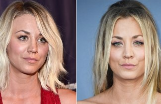 These are 2016s biggest celebrity hair transformation bucking the lob trend kaley cuoco added luxe extensions for a glamorous new look getty images pmusecretfo Gallery