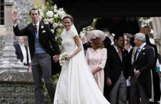 Cameras After Their Wedding At St Marks Church On May 20 2017 In Englefield England Middleton The Sister Of Catherine Duchess Cambridge Married