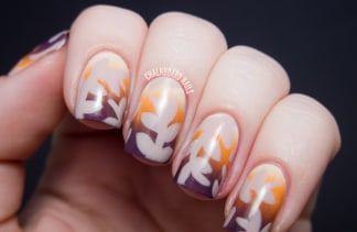 Thanksgiving nail art 13 festive fall manicure tutorials today prinsesfo Image collections