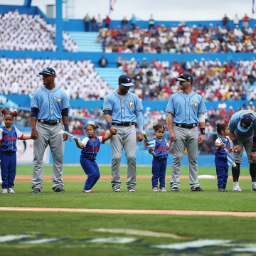 Image: President Obama Attends Tampa Bay Devil Rays v Cuban National Team Baseball Game In Havana