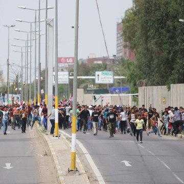 Image: IRAQ-POLITICS-PROTEST