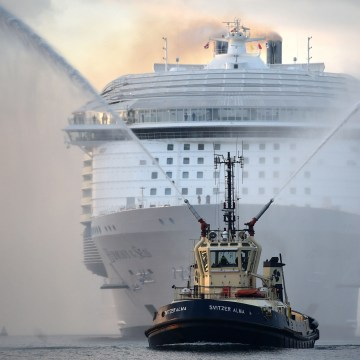 Image: Harmony of the Seas arrives in Southampton