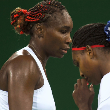 Image: Tennis - Women's Doubles First Round