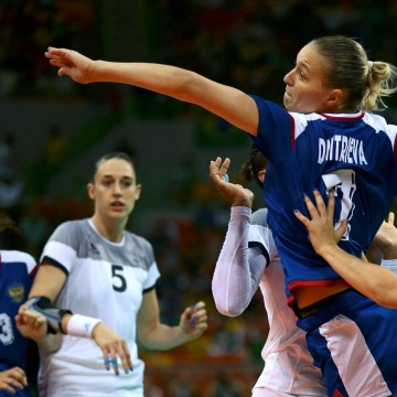 Image: Handball - Women's Gold Medal Game France v Russia