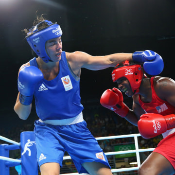 Image: Boxing - Olympics: Day 16