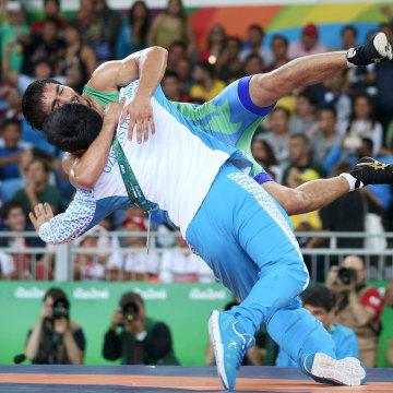 Image: Wrestling - Men's Freestyle 65 kg Bronze