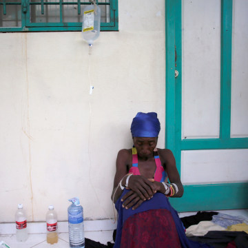 Image: Cholera Spreads in Haiti After Hurricane Matthew