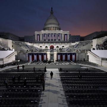 Image: TOPSHOT-US-POLITICS-TRUMP-INAUGURATION-PREPARATIONS