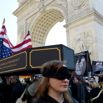 Image: US-POLITICS-TRUMP-PROTEST