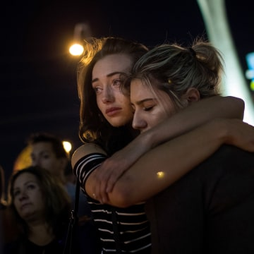 Image: Mass Shooting At Mandalay Bay In Las Vegas Leaves At Least 50 Dead