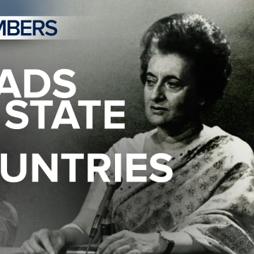 MTP By the Numbers: Heads of State